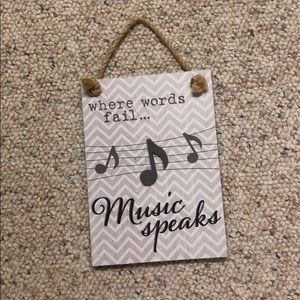 """""""Where words fail, music speaks"""" Picture"""